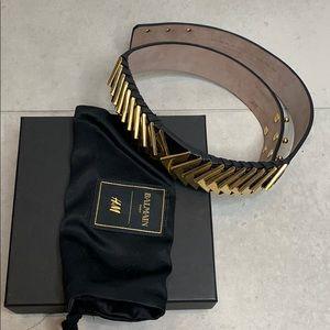 HM x Balmain Belt limited edition